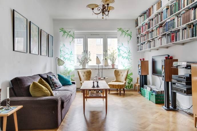 Bild: 2,5 rum bostadsrätt på Trelleborgsgatan 9B, Malmö kommun Folkets park