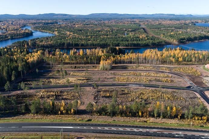 Bild: tomt på Dr Seldingers Väg, Mora kommun Noret