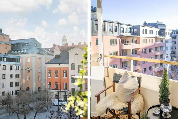 Bild: 3 rum bostadsrätt på Hagagatan 17 B, 5tr, Stockholms kommun Vasastan