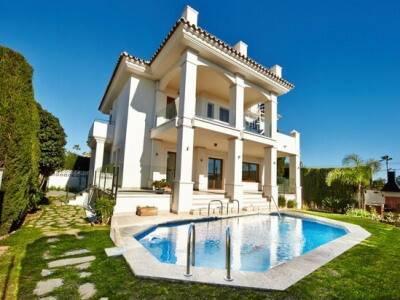 Bild: 5 rum villa på Villa, Marbella - Costabella -  Costa del Sol , ES, Spanien Costabella