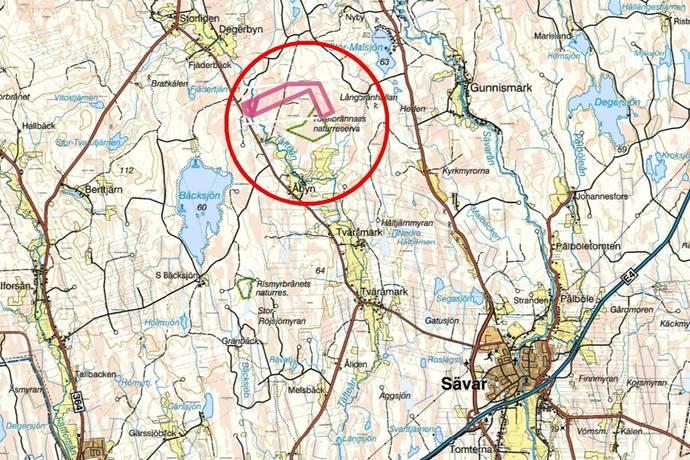 Bild: gård/skog, Umeå kommun Umeå - Gunnisholm