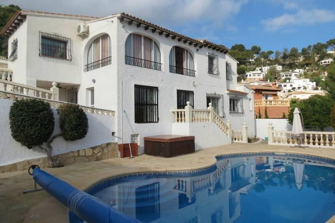 Bild: 5 rum villa på Mycket fin villa i Moraira, uthyrningspotential!, Spanien Moraira