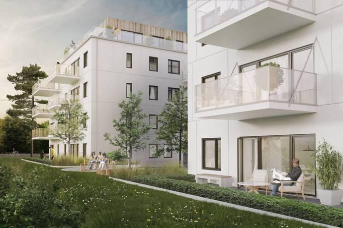Bild: 2 rum bostadsrätt på Brf Hövdingahöjden, Fornminnesvägen 1,, Vallentuna kommun Vallentuna