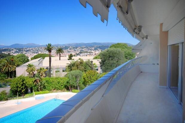 Bild: 4 rum bostadsrätt på Nice, Mont Boron, Frankrike