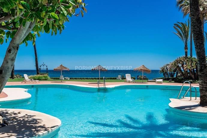 Bild: 3 rum bostadsrätt på First line beach lägenhet, Spanien Estepona - New Golden Mile