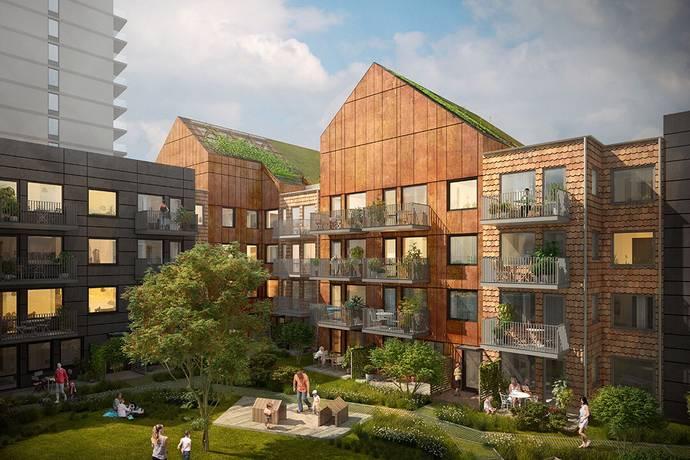 Bild: 1 rum bostadsrätt på Vårflodsgatan 15, Tyresö kommun