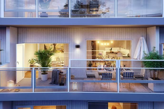 Bild: 4 rum bostadsrätt på Hästövägen 2, Karlskrona kommun Karlskrona