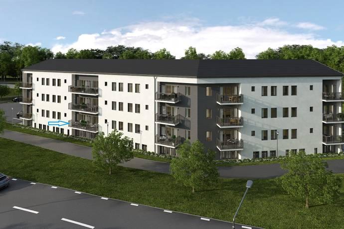 Bild: 2 rum bostadsrätt på Blomsterkungsvägen 116, Stockholms kommun Hässelby Backlura