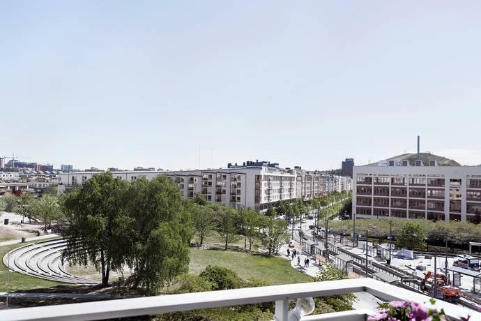 Bild: 3 rum bostadsrätt på Lumaparksvägen 1, vån 5, Stockholms kommun Hammarby Sjöstad