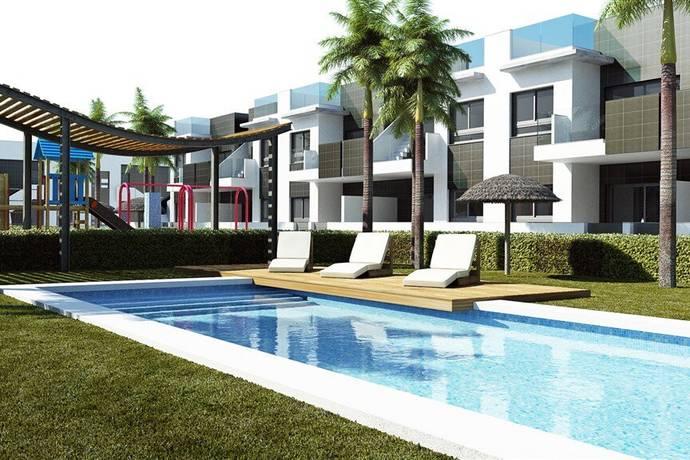 Bild: 3 rum bostadsrätt på Lamar Resort, Bungalow 3 rum m trädgård, Spanien Costa Blanca