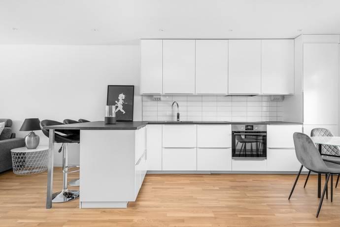 Bild: 2 rum bostadsrätt på Lindbladsvägen 7B, Mjölby kommun Skänninge