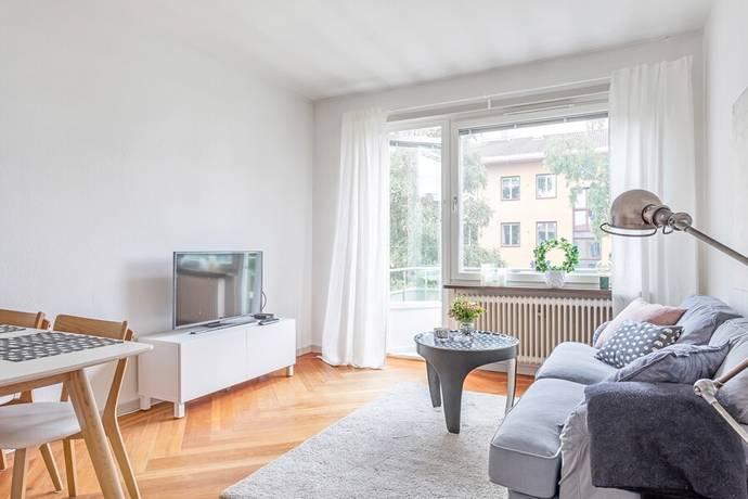 Bild: 2 rum bostadsrätt på Kyrkogårdsgatan 45 A, Uppsala kommun Luthagen