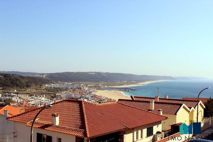 Bild: 2 rum bostadsrätt på 1 rok, balkong med utsikt, Nazaré, Portugal Silverkusten