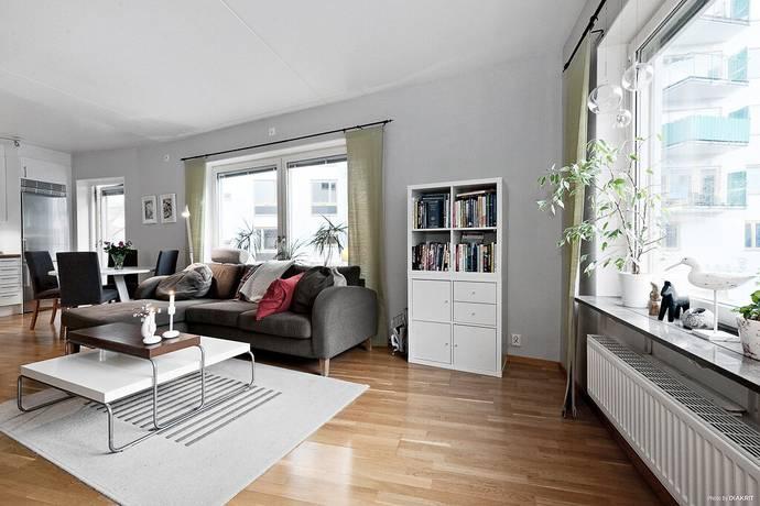 Bild: 2 rum bostadsrätt på Styrbordsgatan 14, Stockholms kommun Hammarby Sjöstad