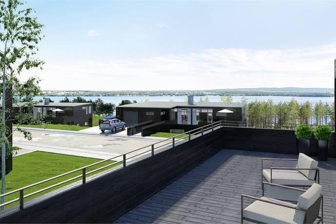 Bild: 6 rum villa på Mosebacken 24 (tomt  nr 15), Östersunds kommun Frösön