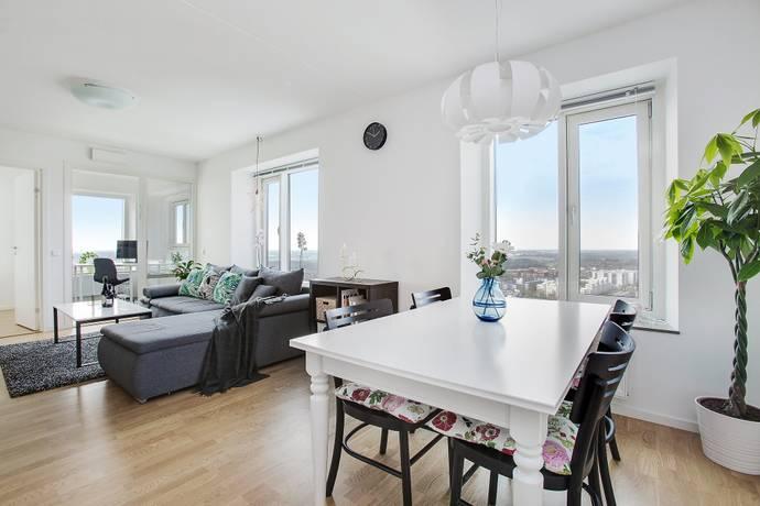 Bild: 3 rum bostadsrätt på Borgarfjordsgatan 21A, Våning 34, Stockholms kommun Kista