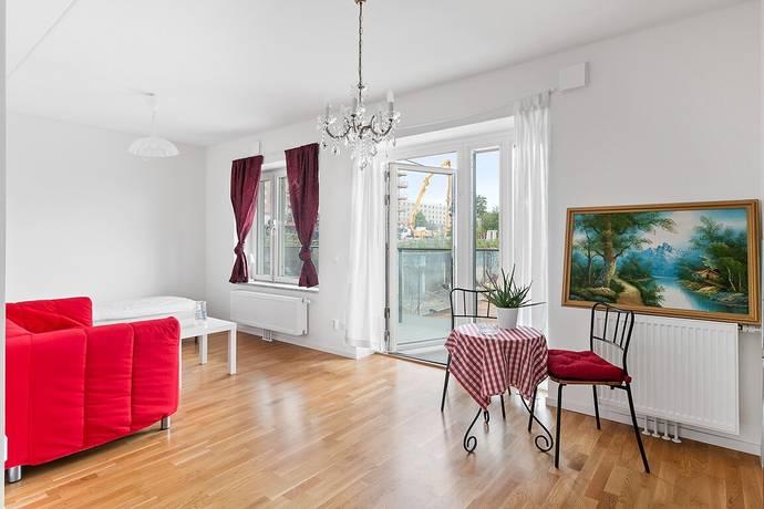 Bild: 1 rum bostadsrätt på Almbygatan 10, Stockholms kommun Spånga - Rinkeby