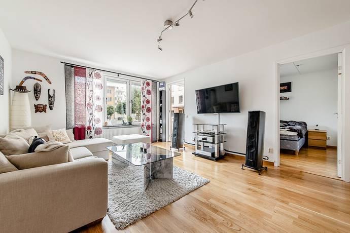 Bild: 2 rum bostadsrätt på Bennebolsgatan 36, Stockholms kommun Spånga Solhem