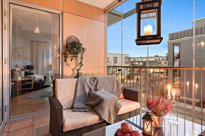 Bild: 2 rum bostadsrätt på Maj på Malös gata 34, Göteborgs kommun Eriksberg - Västra