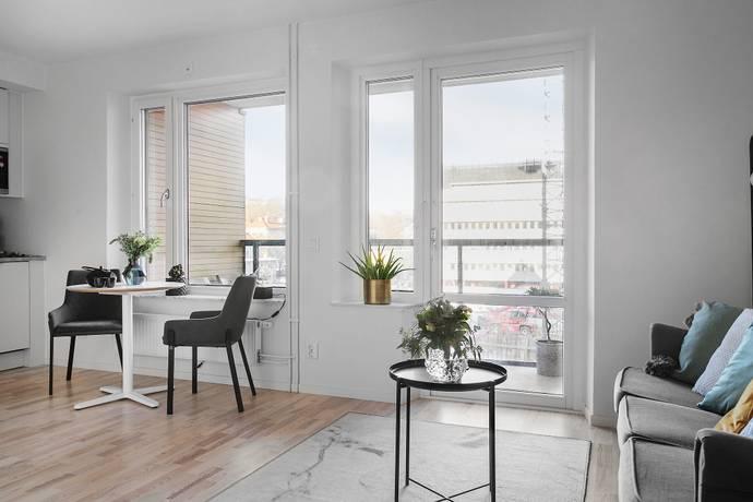 Bild: 1 rum bostadsrätt på Ebbe Lieberathsgatan 16B, Göteborgs kommun Almedal