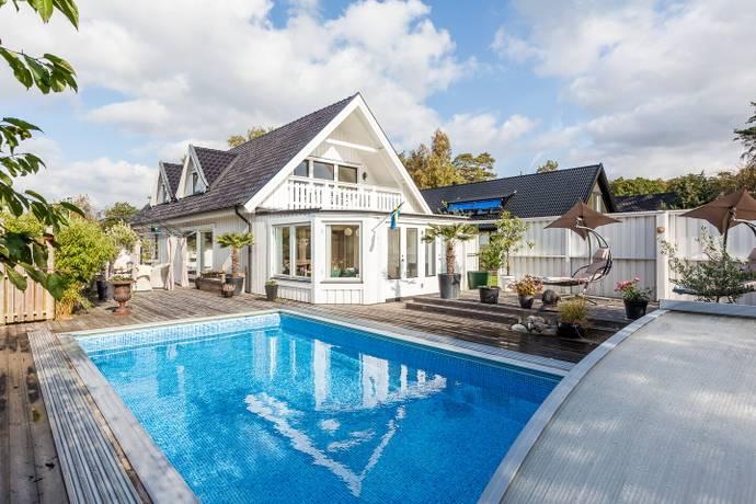 Bild: 4 rum villa på Vilshärads Granstig 6, Halmstads kommun Vilshärad