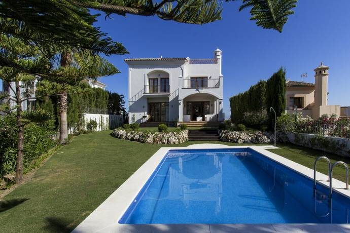 Bild: 5 rum villa på Villa i Estepona, Costa del Sol, Spanien Estepona