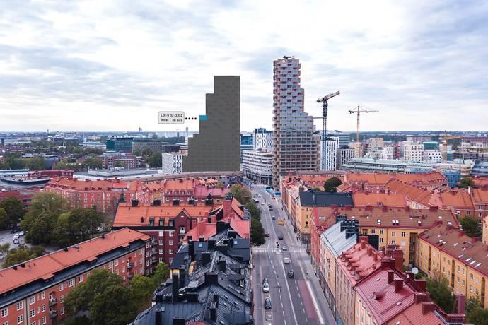Torsplan 10 Plan 23 I Hagastaden Vasastan Stockholm