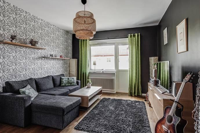 Bild: 2 rum bostadsrätt på Linggatan 7 B, Linköpings kommun Vasastaden