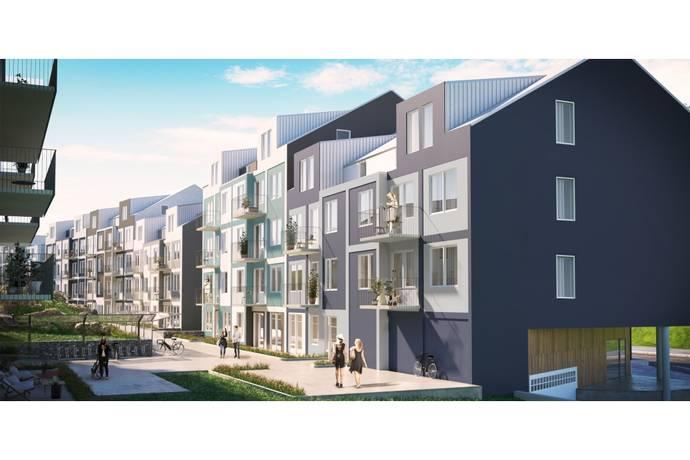 Bild: 1 rum bostadsrätt på Frestavägen 91-97, Sollentuna kommun