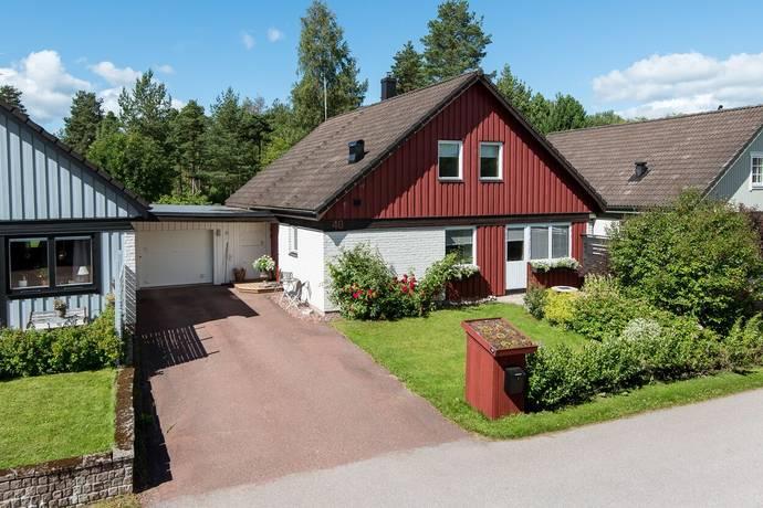 Bild: 6 rum radhus på Plogvägen 40, Mora kommun Hånåkni