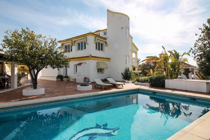 Bild: 7 rum villa på 3-vånings villa med pool & garage!, Spanien Malaga
