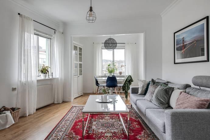 Bild: 2,5 rum bostadsrätt på Bomgatan 6B, Göteborgs kommun Almedal/Johanneberg