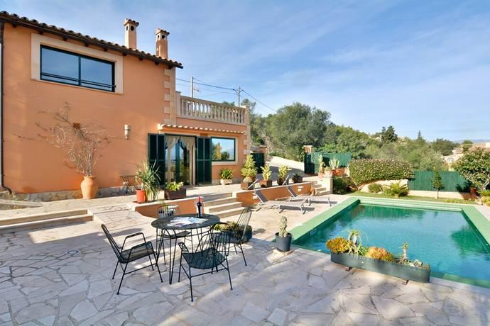 Bild: 5 rum villa på Santa Eugènia, Mallorca, Spanien Santa Eugènia