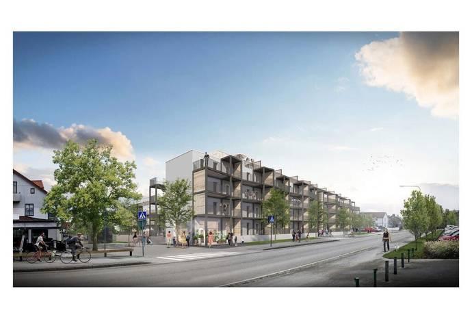 Bild från Visby - Söder - 62 nya exklusiva lägenheter i södra Visby