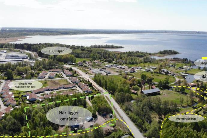Bild från Källby - Nybyggda bostadsrätter i Källby, Sjökvarn området