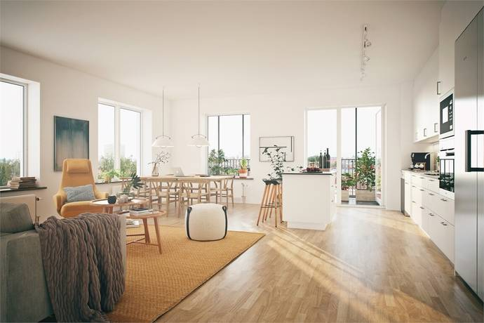 Bild: 4 rum bostadsrätt på Förmansgatan lgh 1402, Örebro kommun Öster