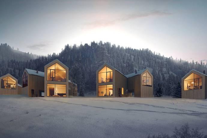 Bild: 2 rum radhus på Fågelvägen Björnrike, Härjedalens kommun Björnrike