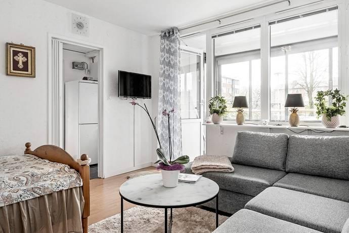 Bild: 1 rum bostadsrätt på Hemmansvägen 9, Halmstads kommun Centralt