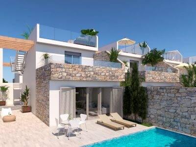 Bild: 4 rum villa på Villa i Los Alcazares, Murcia, Spanien Los Alcázares
