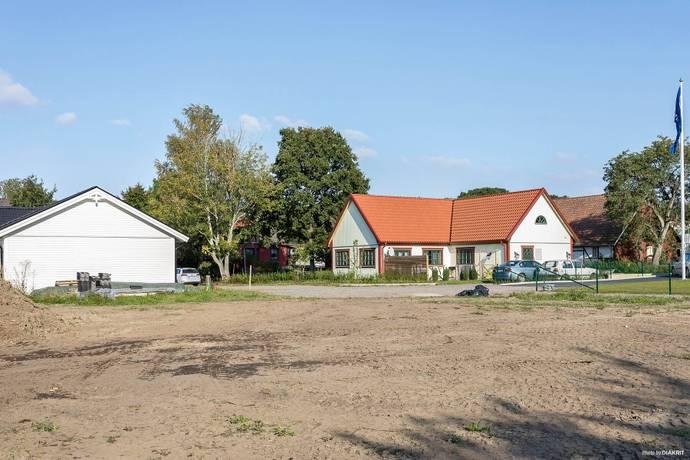 Bild: tomt på Bankvägen 22B, Ängelholms kommun Strövelstorp