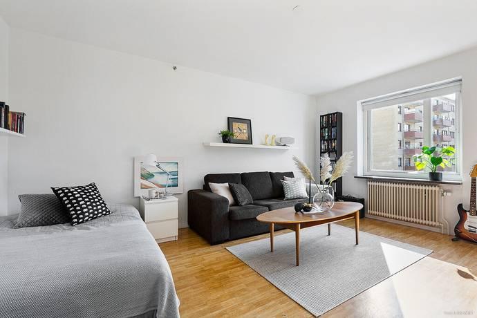 Bild: 1 rum bostadsrätt på Amiralitetsgatan 4, Karlskrona kommun Trossö