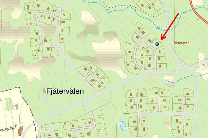 Bild: tomt på Dalripstigen 8, Älvdalens kommun Fjätervålen