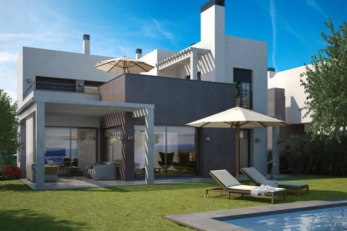 nya villor mellan marbella och estepona i selwo estepona villa till salu hemnet. Black Bedroom Furniture Sets. Home Design Ideas