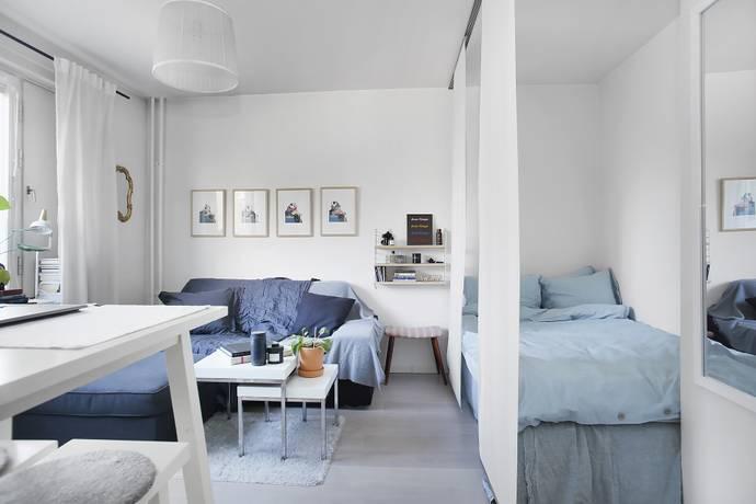 Bild: 1 rum bostadsrätt på Ljusstöparbacken 9A, Stockholms kommun Gröndal