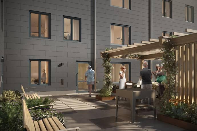 Bild: 3 rum bostadsrätt på Nedergårdsgatan/Virginsgatan, Göteborgs kommun Kålltorp