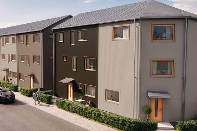 Bild: 2 rum bostadsrätt på Brf Elins Trädgårdar, Växjö kommun Bredvik