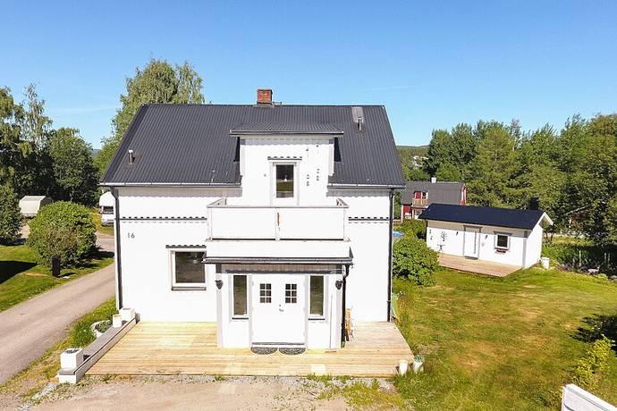 Bild: 4 rum villa på Hamrénsvägen 16, Kramfors kommun Limsta