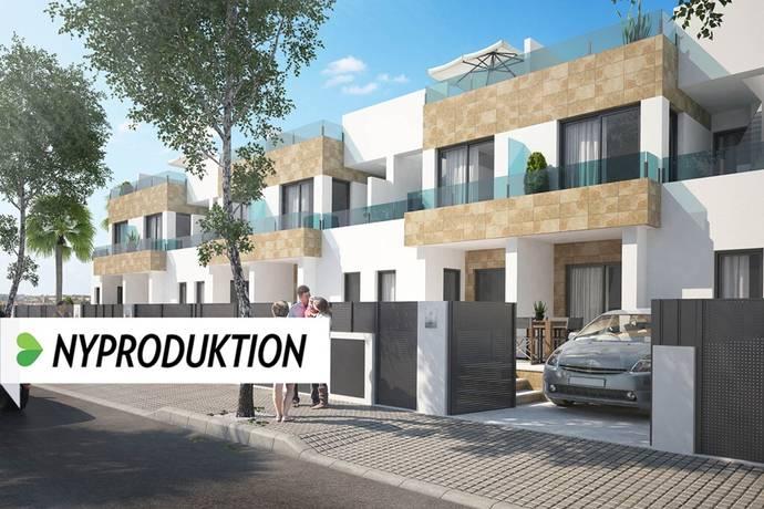 Bild: 4 rum radhus på Välbyggt med generösa terrassytor, Spanien Torrevieja Söder - Villamartin