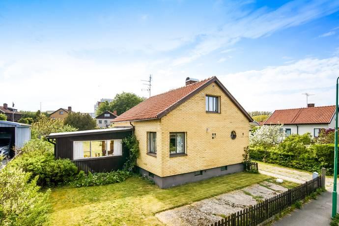 Bild: 3 rum villa på Trädgårdsgatan 9, Simrishamns kommun Simrishamn - ovan Brunnsparken