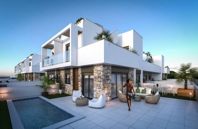 Bild: 4 rum radhus på ORIHUELA COSTA LOMAS DE CABO ROY, Spanien Costa Blanca